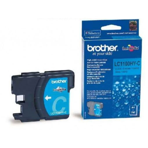 Brother LC1100HYC Eredeti Cyan Tintapatron