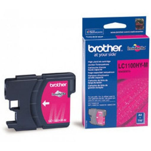 Brother LC1100HYM Eredeti Magenta Tintapatron