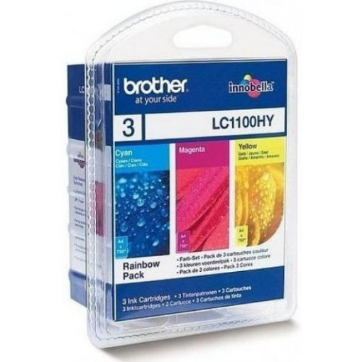 Brother LC1100HYCMY Eredeti Multipack Tintapatron