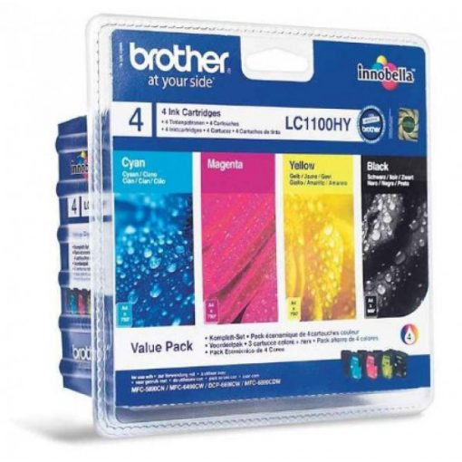 Brother LC1100HYBKCMY Eredeti Multipack Tintapatron