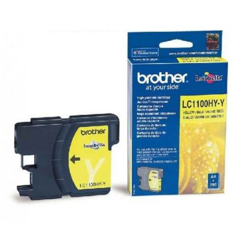 Brother LC1100HYY Eredeti Yellow Tintapatron