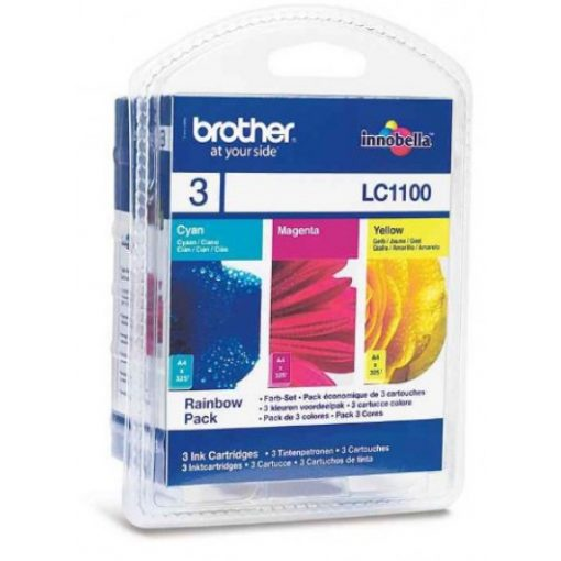 Brother LC1100CMY Eredeti Multipack Tintapatron