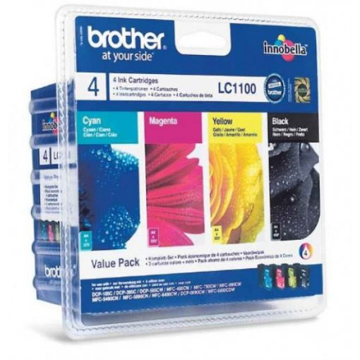 Brother LC1100BKCMY Eredeti Multipack Tintapatron