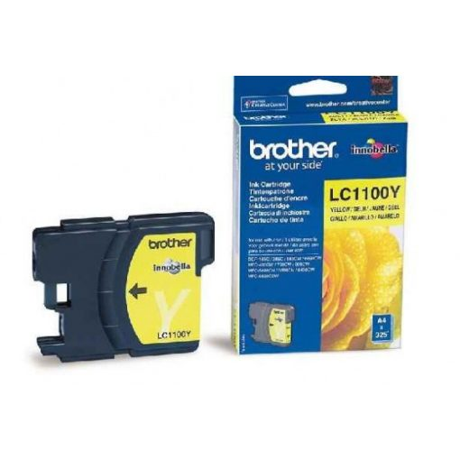 Brother LC1100Y Eredeti Yellow Tintapatron