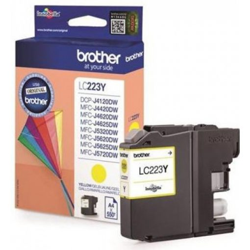 Brother LC223Y Eredeti Yellow Tintapatron
