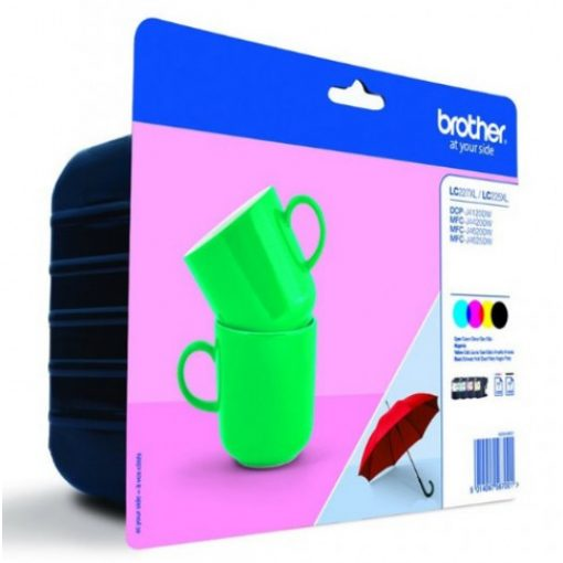 Brother LC227XLBKCMY Eredeti Multipack Tintapatron