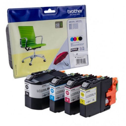 Brother LC229XLBKCMY Eredeti Multipack Tintapatron