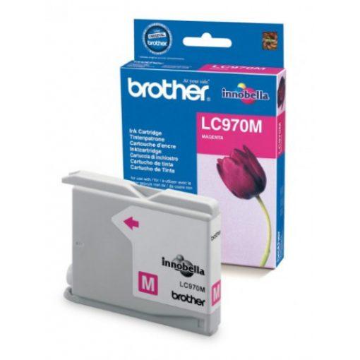 Brother LC970M Eredeti Magenta Tintapatron