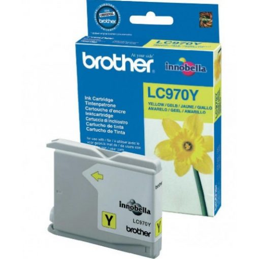 Brother LC970Y Eredeti Yellow Tintapatron