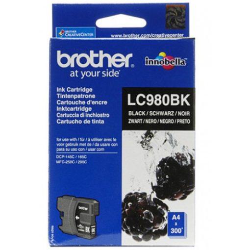 Brother LC980BK Eredeti Fekete Tintapatron