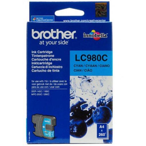Brother LC980C Eredeti Cyan Tintapatron