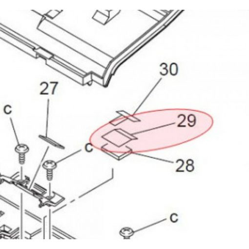 Min 4688-3036-01 friction sheet