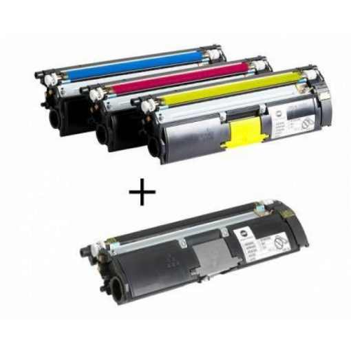 Minolta MC2400 szett Genuin TriColor (CMS) Toner