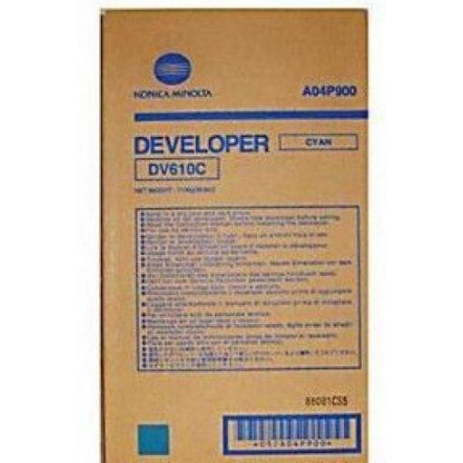 Minolta DV610 Eredeti Cyan Developer