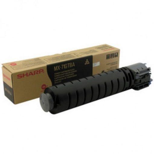 Sharp MX71GTBA Genuin Black Toner