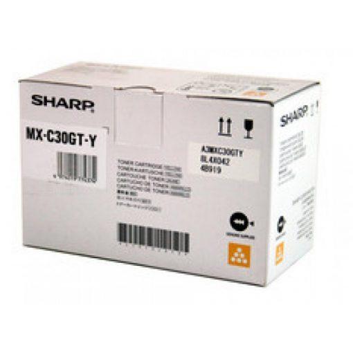 Sharp MXC30GTY Genuin Yellow Toner