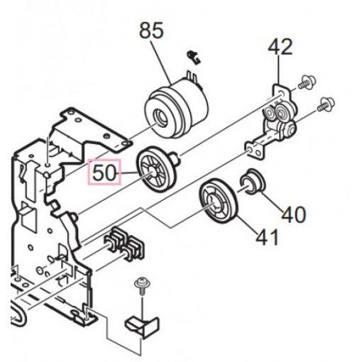 OKI 42745801 Idle gear ES3640