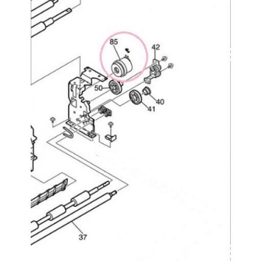OKI 43003201 Reg.gear assy