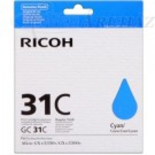 Ricoh GX3300/3350 ink GC31C Genuin Cyan