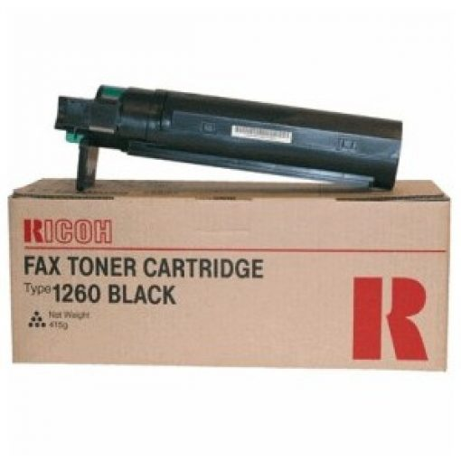 Ricoh FAX3310 TYPE1260 Genuin Black Toner