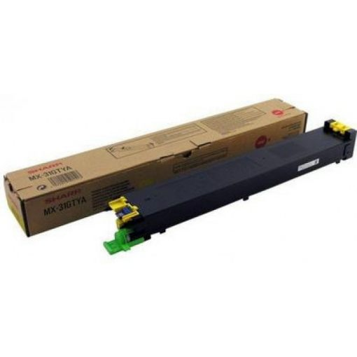 Sharp MX31GTYA Genuin Yellow Toner