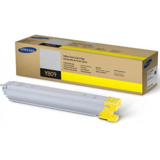 Samsung CLX9201/9301 CLT-Y809S/ELS SS742A Eredeti Yellow Toner