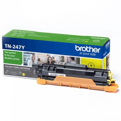 Brother TN247Y Eredeti Yellow Toner