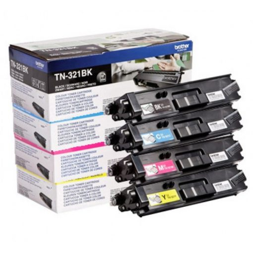Brother TN321Y Eredeti Yellow Toner