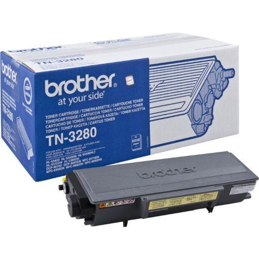 Brother TN3280 Eredeti Fekete Toner