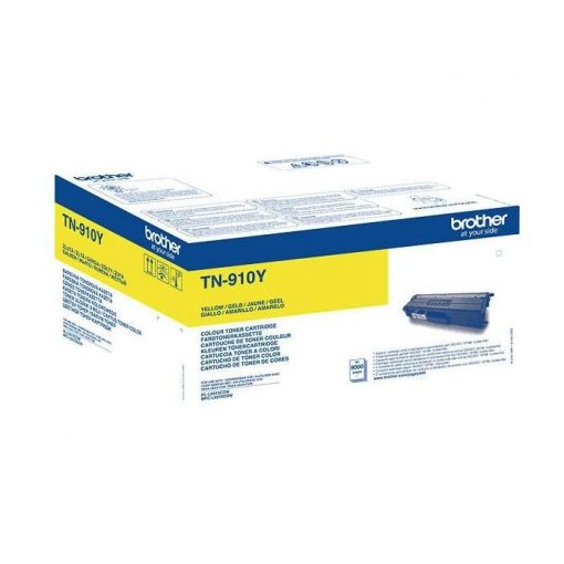 Brother TN910Y Eredeti Yellow Toner