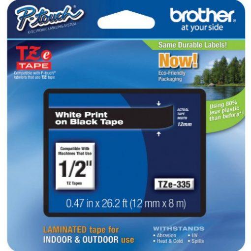 Brother TZe335 szalagkazetta (Eredeti) Ptouch
