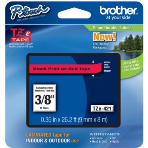 Brother TZe421 szalagkazetta (Eredeti) Ptouch