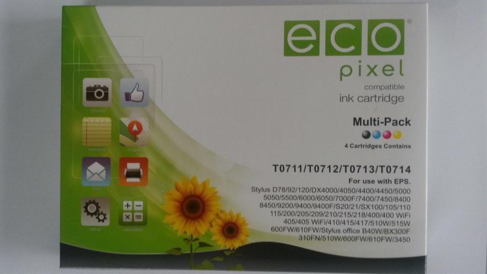 Epson T07154010 Multipack Utángyártott tintapatron
